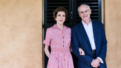 'She's my strongest backer and harshest critic':ACCC chair Rod Sims on wife Alison Pert