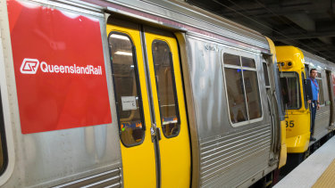 The Ferny Grove line is experiencing major delays and the Beenleigh line is facing minor delays.