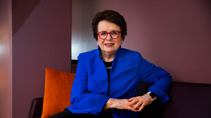 Cricket aces the equality game: Billie Jean King