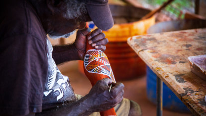 Art, footy, culture – oh, and shopping: we're on Tiwi time and there's much to see and do