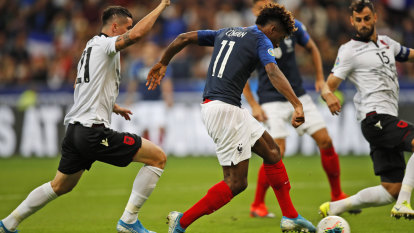 England, France win Euro 2020 qualifiers amid Albanian anthem gaffe