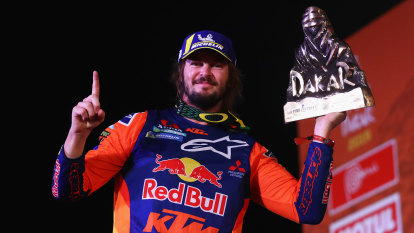 Toby Price begins hunt for third Dakar Rally crown