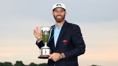 Johnson hangs on to win Travelers as fourth positive hits PGA Tour
