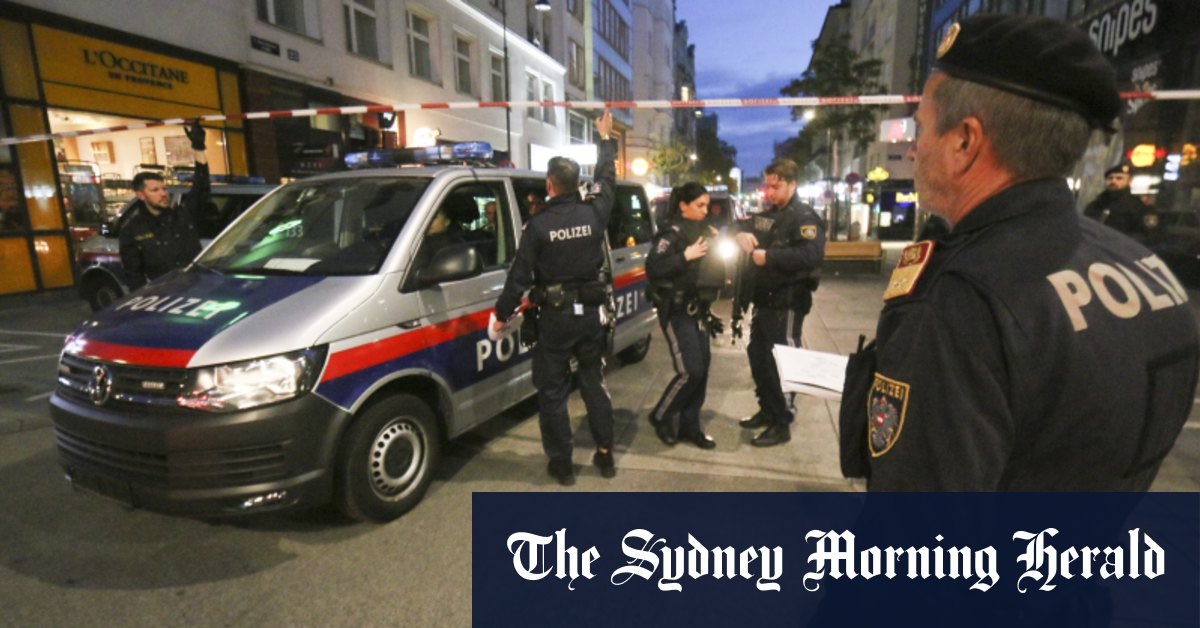 Several arrested in connection with deadly shooting in Vienna – Sydney Morning Herald