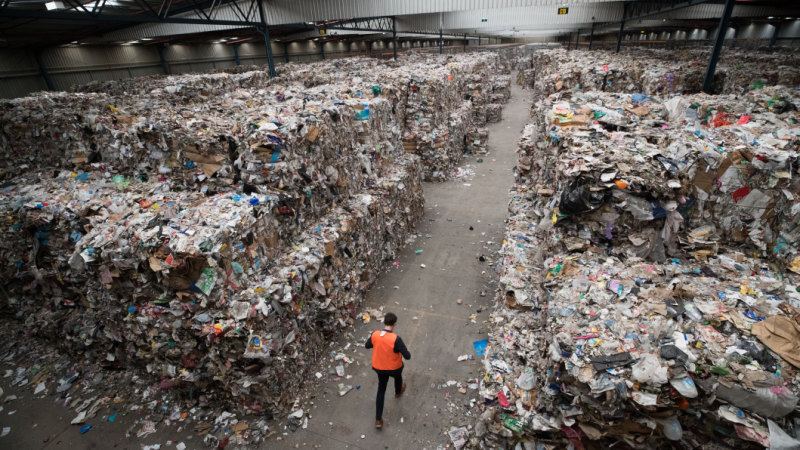 Cowboy recycling company shipped Adelaide's junk to Melbourne - and dumped it