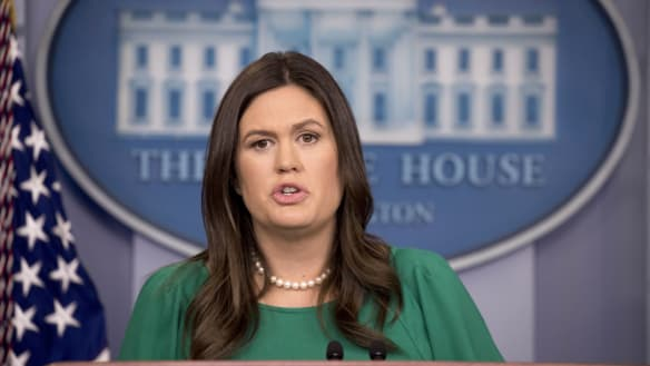 Trump tells press secretary 'not to bother' with White House press briefings