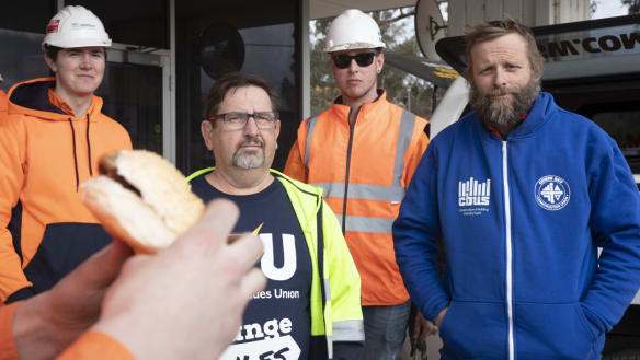 Canberra Metro bans union barbecue from light rail depot