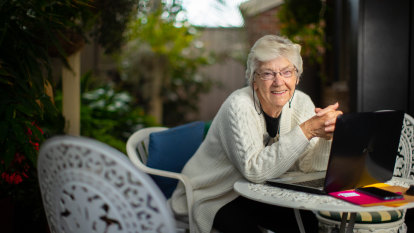 It's great-gran on Zoom as housebound seniors embrace video chatting