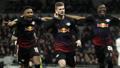 Werner gives Leipzig the edge over Spurs in Champions League
