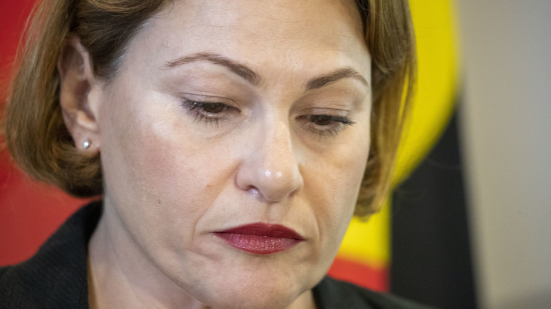Jackie Trad braces for caucus storm ahead of integrity law debate