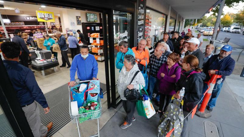 'Panic index' shows Australians were the world's best panic buyers