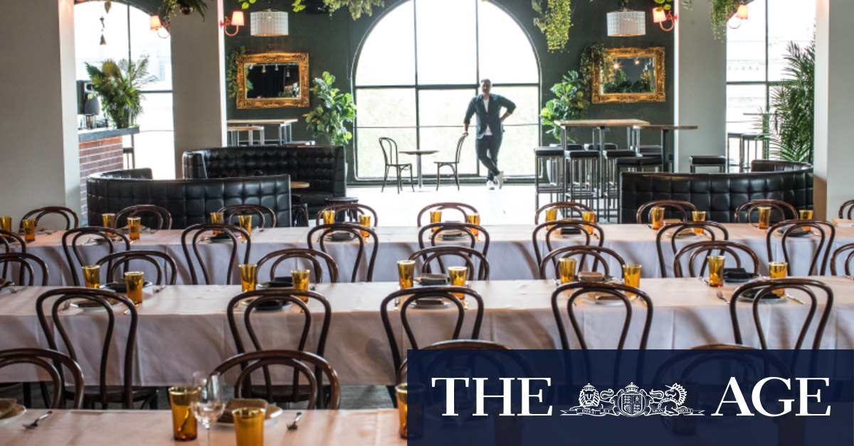 'Just not viable': Hospitality operators push Premier to pick up pace of rule easing – The Age