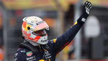 Max Verstappen took pole position in France.
