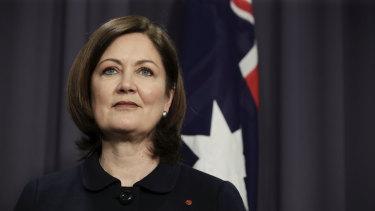 Liberal senator Sarah Henderson.