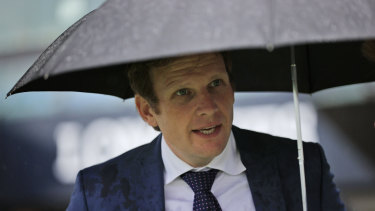 Bjorn Baker and his staff have been charged by stewards in relation to alleged acts of horse cruelty
