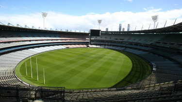 Holding this year's grand final at the MCG remains precarious.