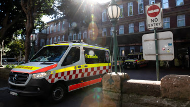 Sydney's Royal Prince Alfred Hospital has paused non-urgent surgery.