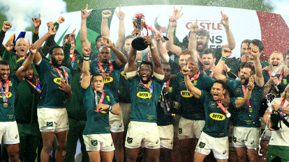 Hollywood finish as Steyn kicks Springboks to second series win over Lions