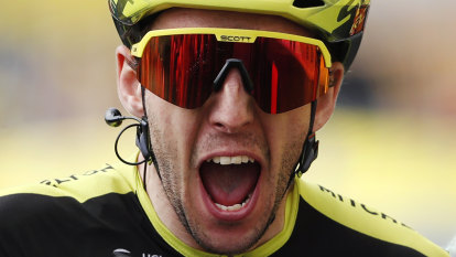 Relief for Mitchelton-Scott as Yates quickly recovers from injury