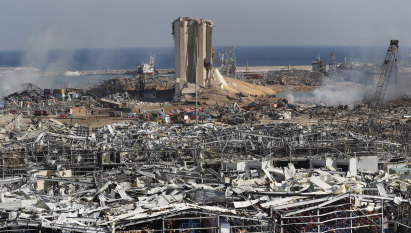 Lebanon on its knees: country on brink of collapse after blast