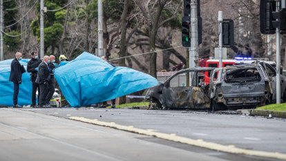 'No words': Partner of woman killed in fiery Parkville crash reveals heartache