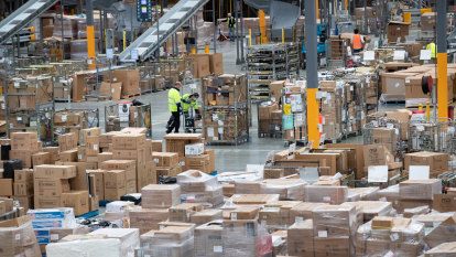 How COVID-19 amplified Australia Post's parcel boom