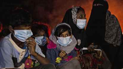 Trapped at sea for 113 days, Rohingya boat survivors finally ran aground