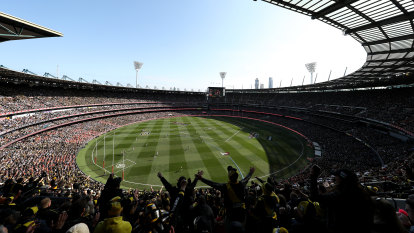 AFL not giving up hope on Victoria hosting the grand final