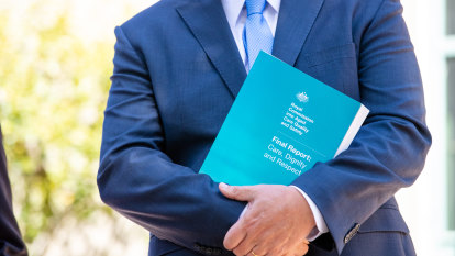 Hunt promises 'record' response to aged care royal commission in budget