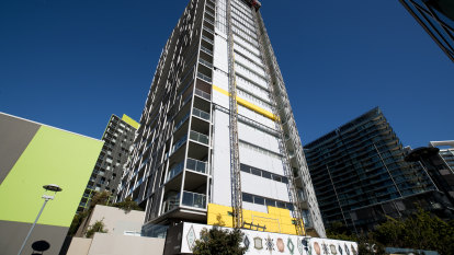 Interest-free loans part of $1b program to fix NSW's cladding crisis