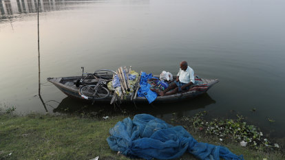 'Daughter of the Ganga': Indian boatman saves baby girl found floating in box on Ganges river