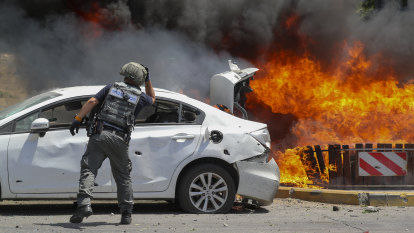 Death and destruction spreads across Israel and the Palestinian territories