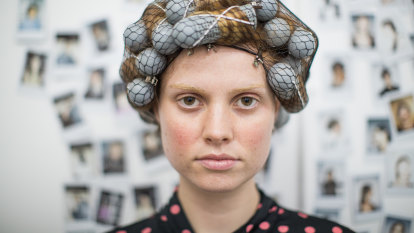 To achieve 2021's biggest hair trend, call your nan