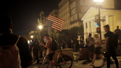 Disembarking in a deeply divided America