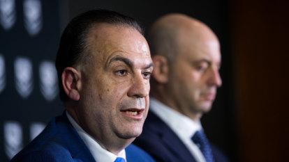 New ARLC supremo V'landys confident next TV deal will rise from $1.8 billion