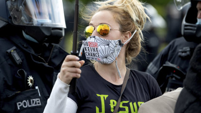 Germany's far right taps into coronavirus protests fuelled by anti-vaxxers, anti-maskers