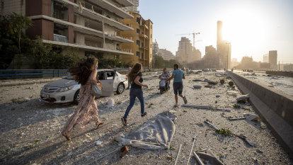 Hospitals overwhelmed as explosion rocks Lebanese capital Beirut