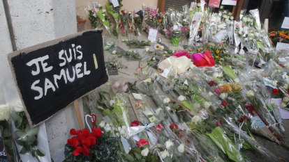 Teenager asked pupils to identify French teacher before beheading him