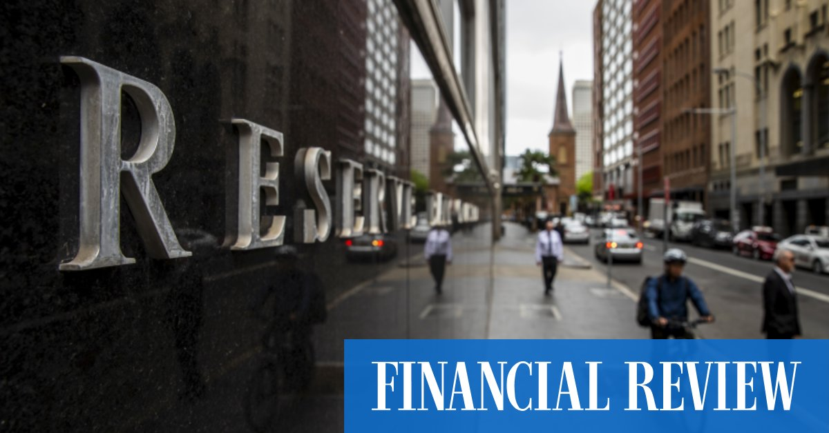ASX to rise RBA poised to cut interest rates – The Australian Financial Review