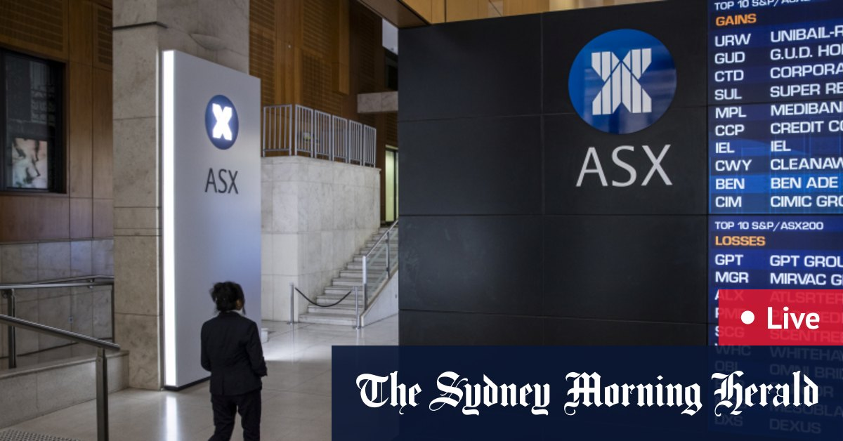As it happened: Tech and health stocks outperform as ASX adds 0.2% – The Sydney Morning Herald