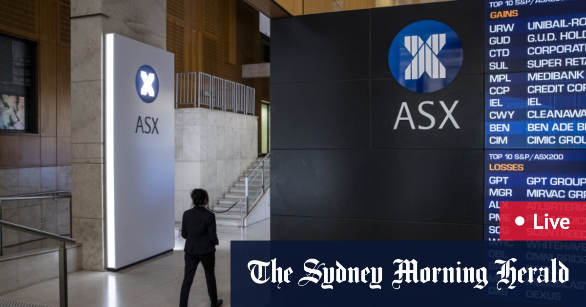As it happened: ASX gains 0.8% to seven-month high – The Sydney Morning Herald