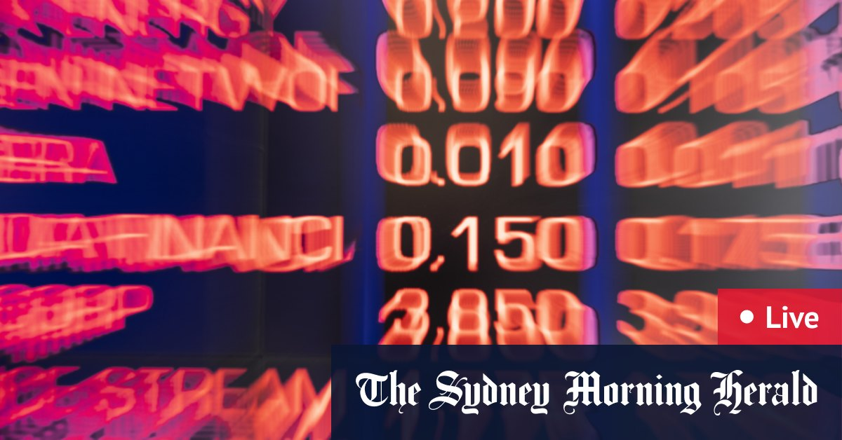As it happened: Rate expectations lift ASX 200 to seven-month peak – The Sydney Morning Herald