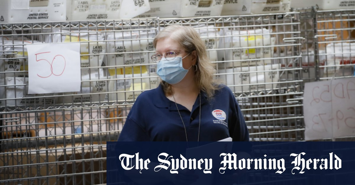 Tensions erupt over US election voting limitations – Sydney Morning Herald
