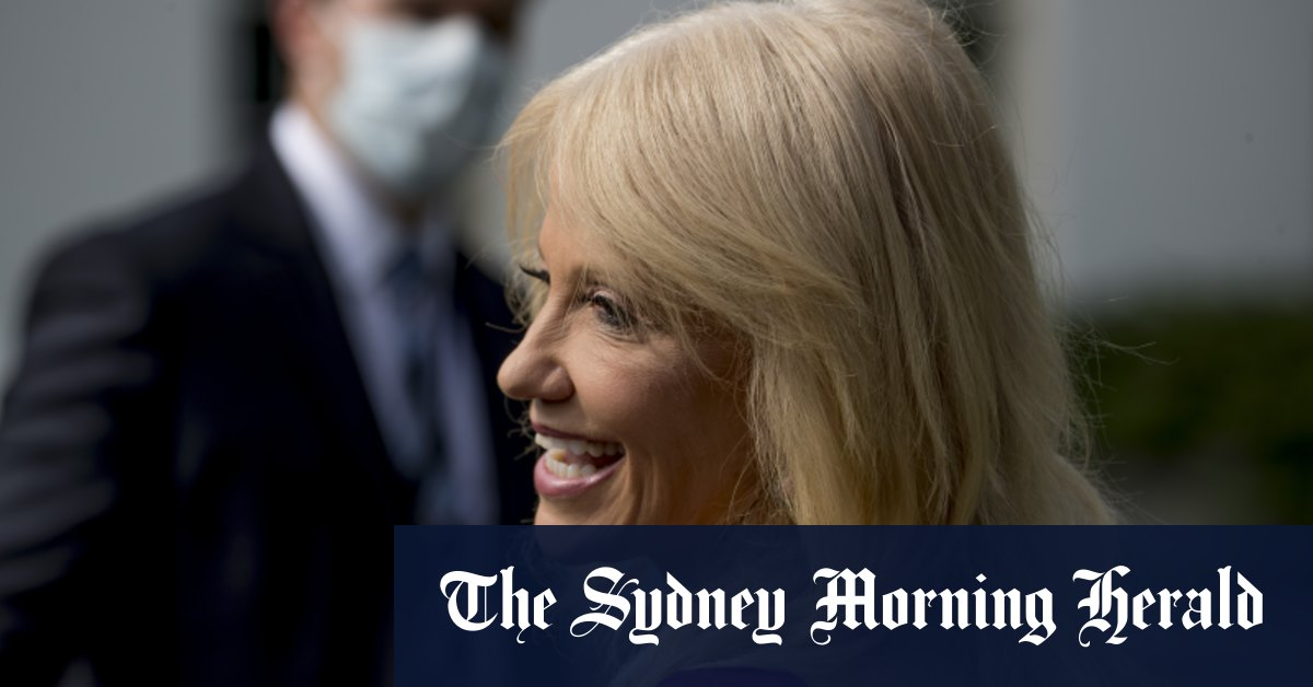 Kellyanne Conway top Trump aide to leave White House before election – Sydney Morning Herald
