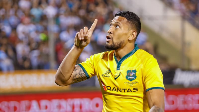 Israel Folau claims his contract was illegal