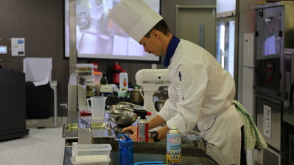 Trainees to be the creme de la creme with patisserie skills