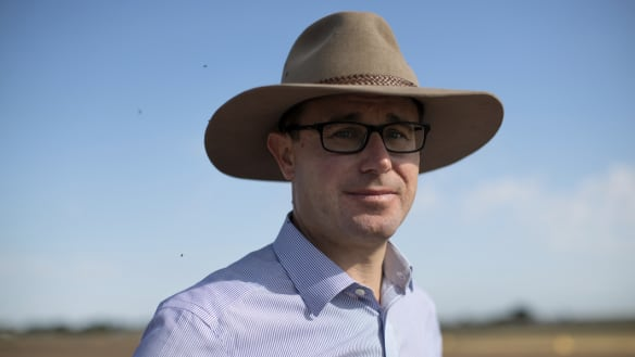 Barnaby Joyce may be the next leader of the Nationals but its future rests with David Littleproud