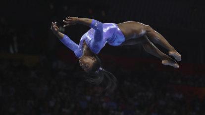 'That's pretty crazy': Biles wins record 25th world championship medal