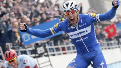 Philippe Gilbert tames the cobbles to win Paris-Roubaix