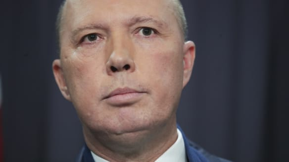 Dutton's attack on Turnbull dents Coalition election hopes